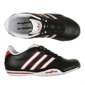 b9ac4e20ddff Baskets Adidas Originals Goodyear Os Lea K Blanc vue face. Adidas Goodyear  ... Chaussure-Sport-Homme-Adidas-ADI-Semelle-Goodyear-Original- Baskets  Basses ...