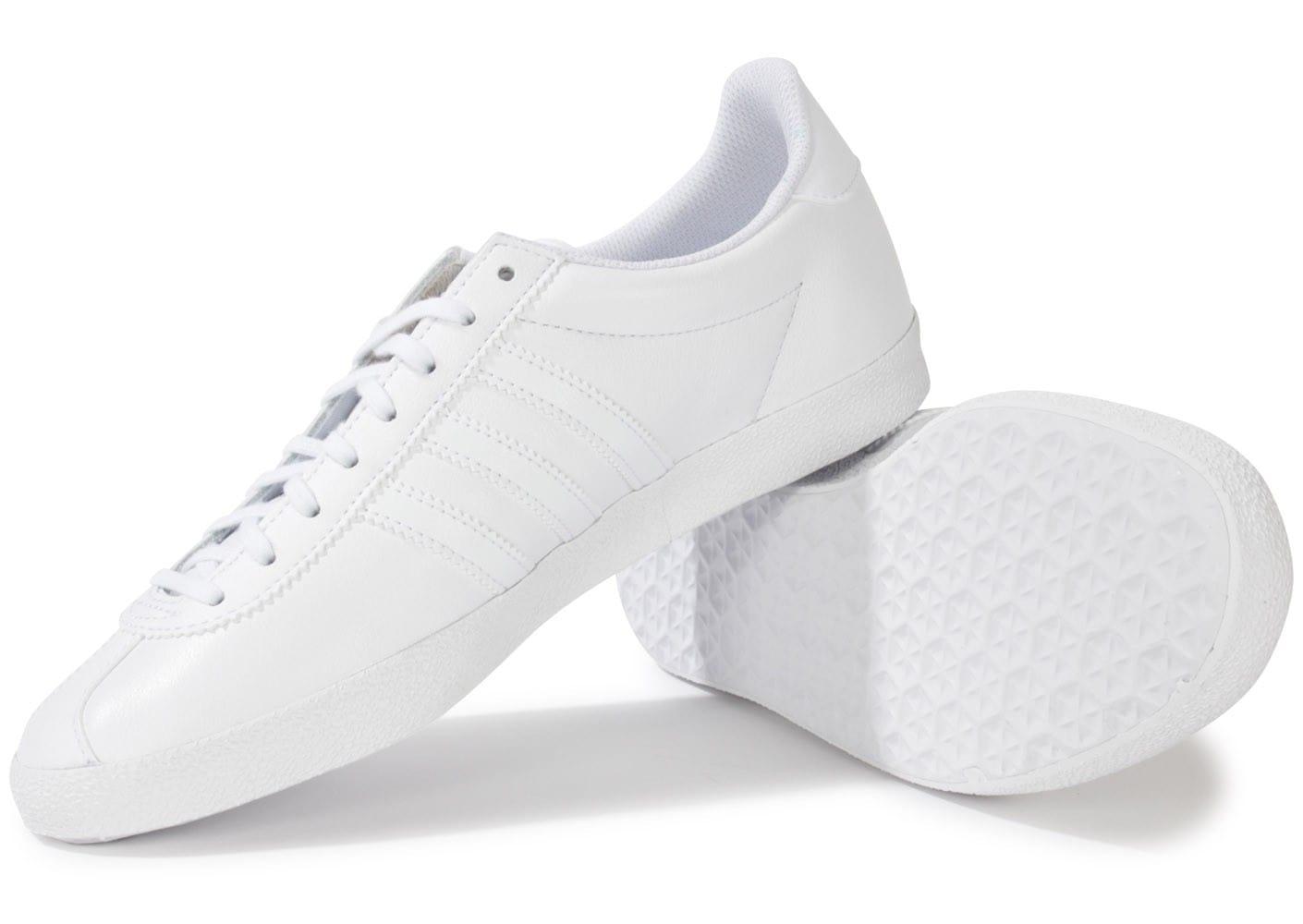 adidas Gazelle S76228, Baskets mode CHAUSSURES HOMME Rouge, Blanc Printemps  été Cuir Caoutchouc Lacets 23bb28f429a0