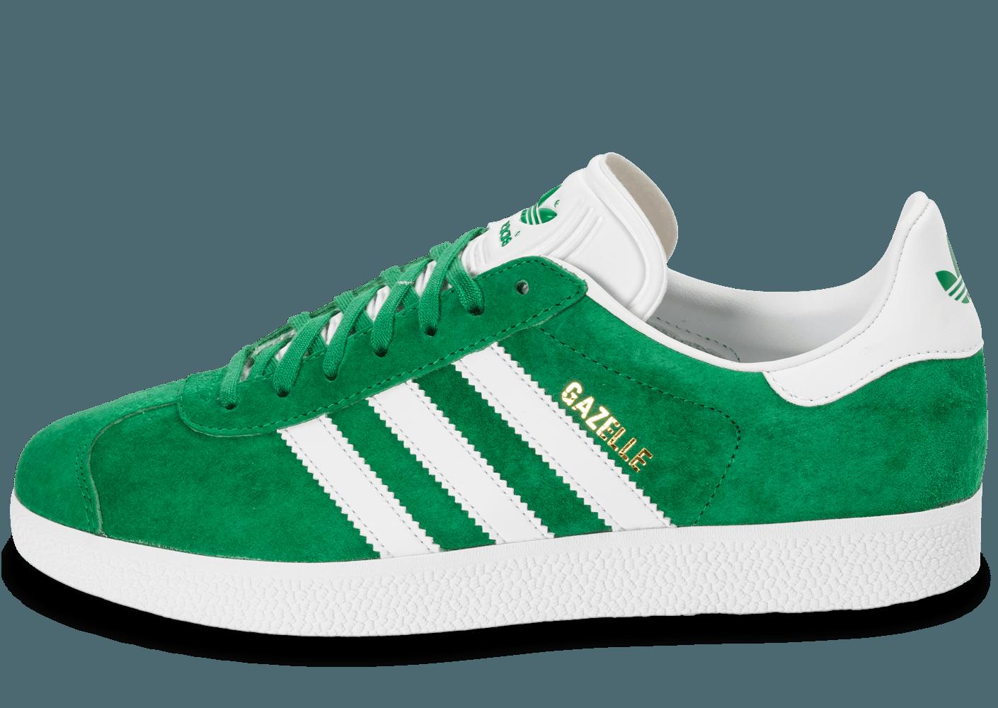adidas gazelle femme vert clair