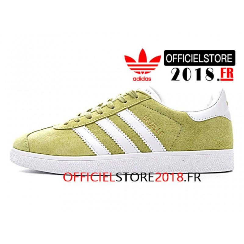 Acheter adidas gazelle vert homme pas cher