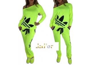 jogging femme adidas fluo