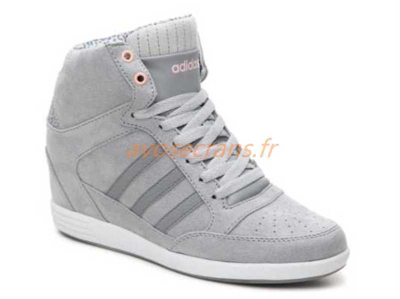 adidas super wedge blanche