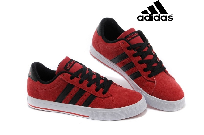 best loved b4470 a6376 Sneakers  u0026 Chaussures   Adidas Neo City Racer alimentation rouge    blanc   noir ...