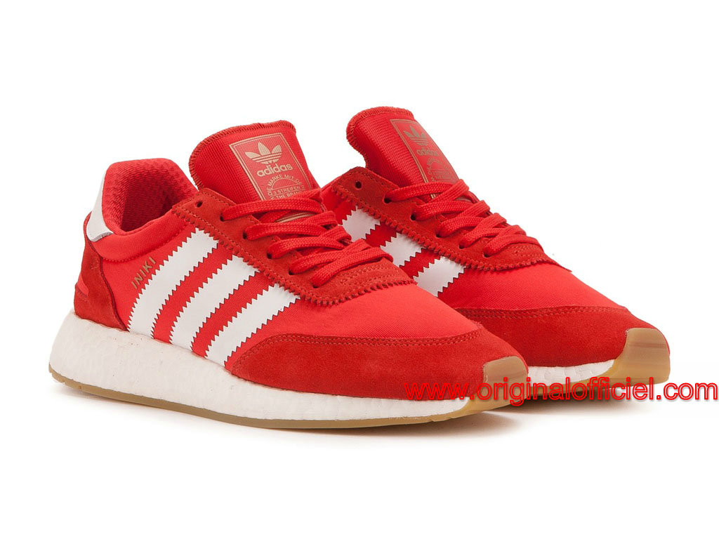 adidas rouge chaussure femme