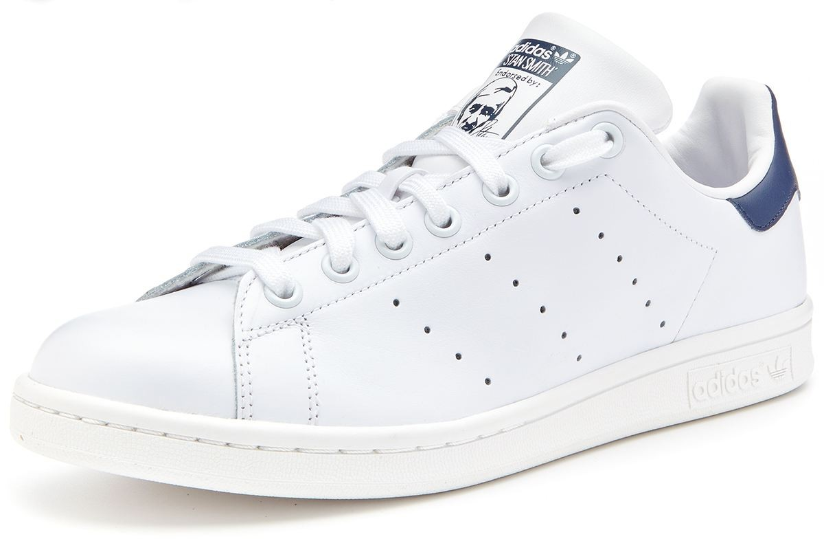 good adidas stan smith blanc and marine 35e2f a40d5