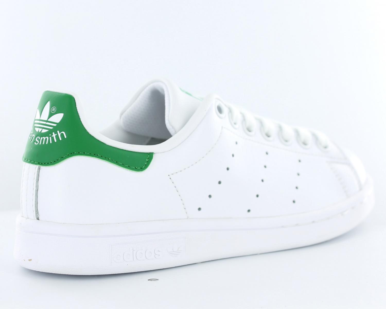 best service 2f6a4 ff8b6 adidas stan smith femme blanc blanc vert b24105. Chaussures Adidas Stan  Smith Blanche Et Verte Cliquez pour zoomer ...