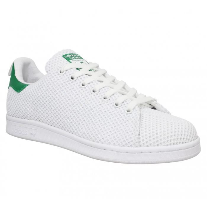 factory authentic a6187 af5b6 adidas stan smith homme toile