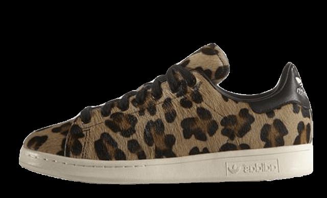 adidas stan smith leopard femme