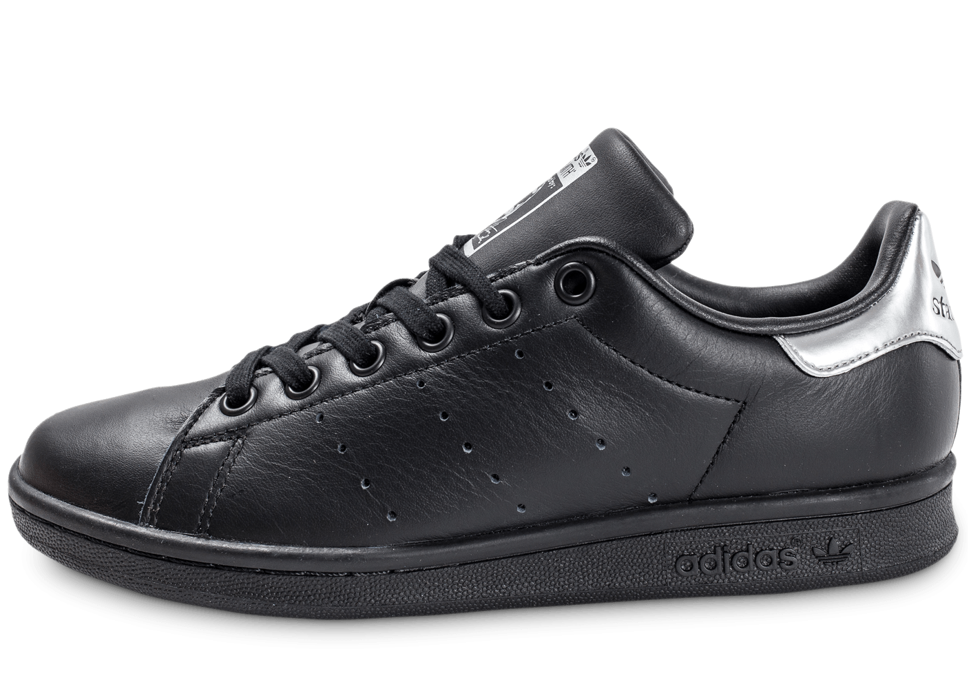 baskets velcro adidas stan smith cf python noir femme