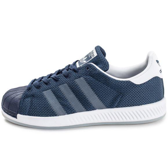superstar adidas homme bleu