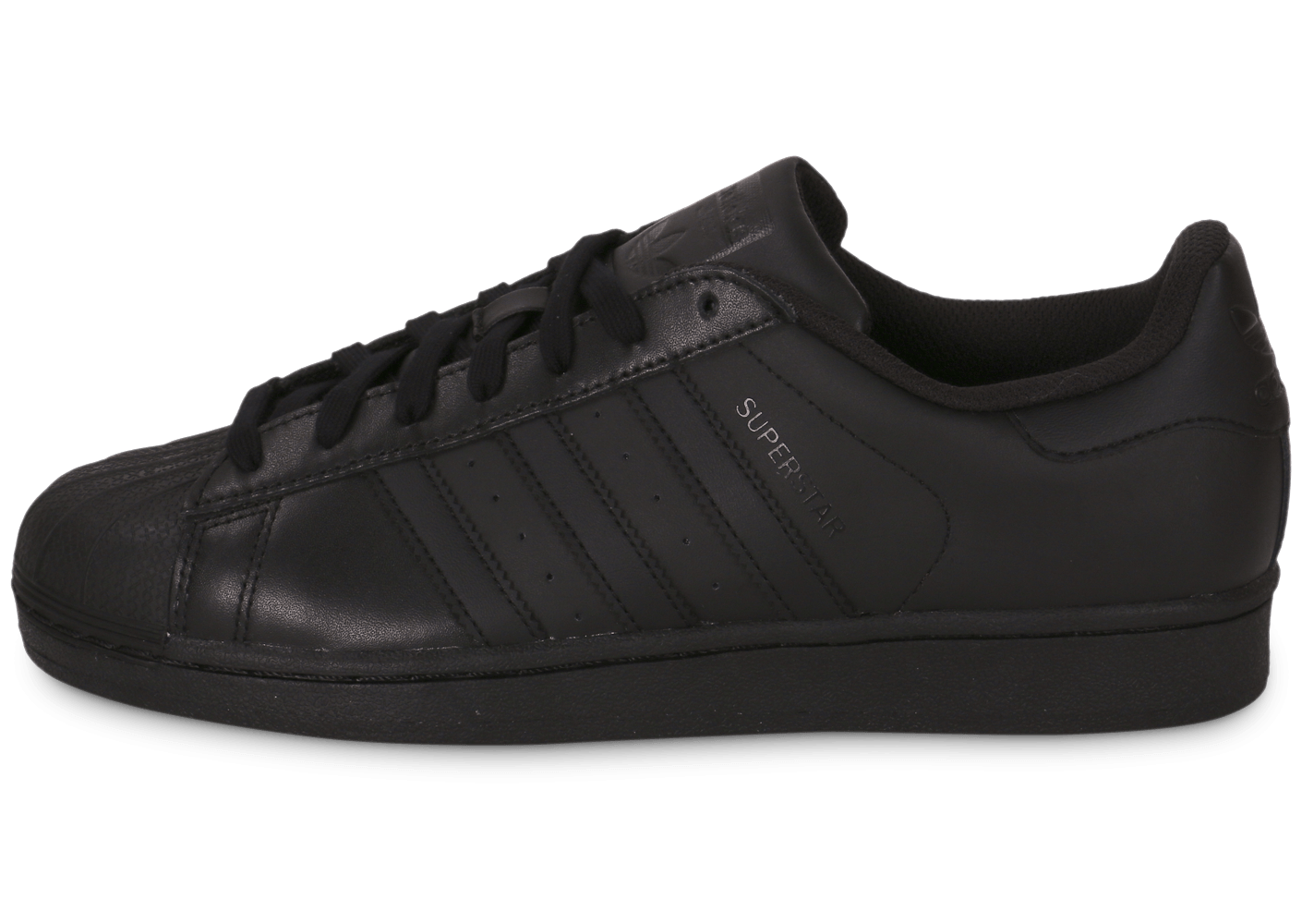 98ca90ed1e5f5 ... cheapest boutique franaise fondation adidas superstar af5666 original noir  noir homme sneakers 77502 743e1