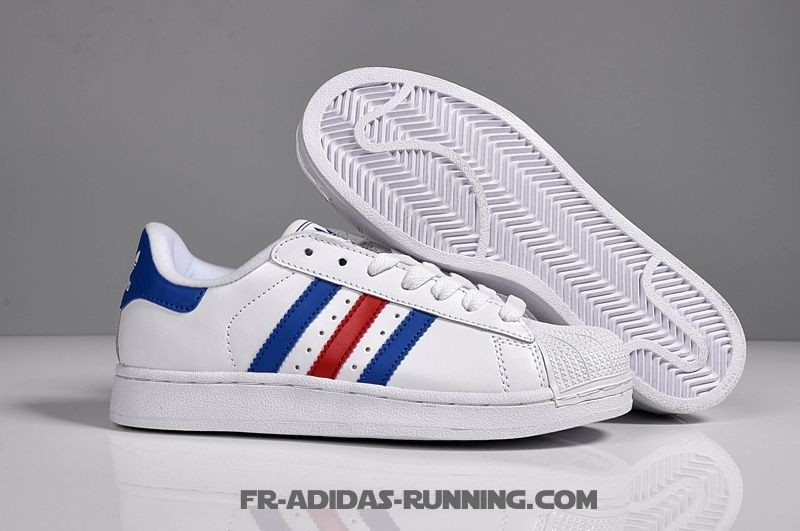 huge discount 5d694 cf63f adidas superstar blanche et rouge