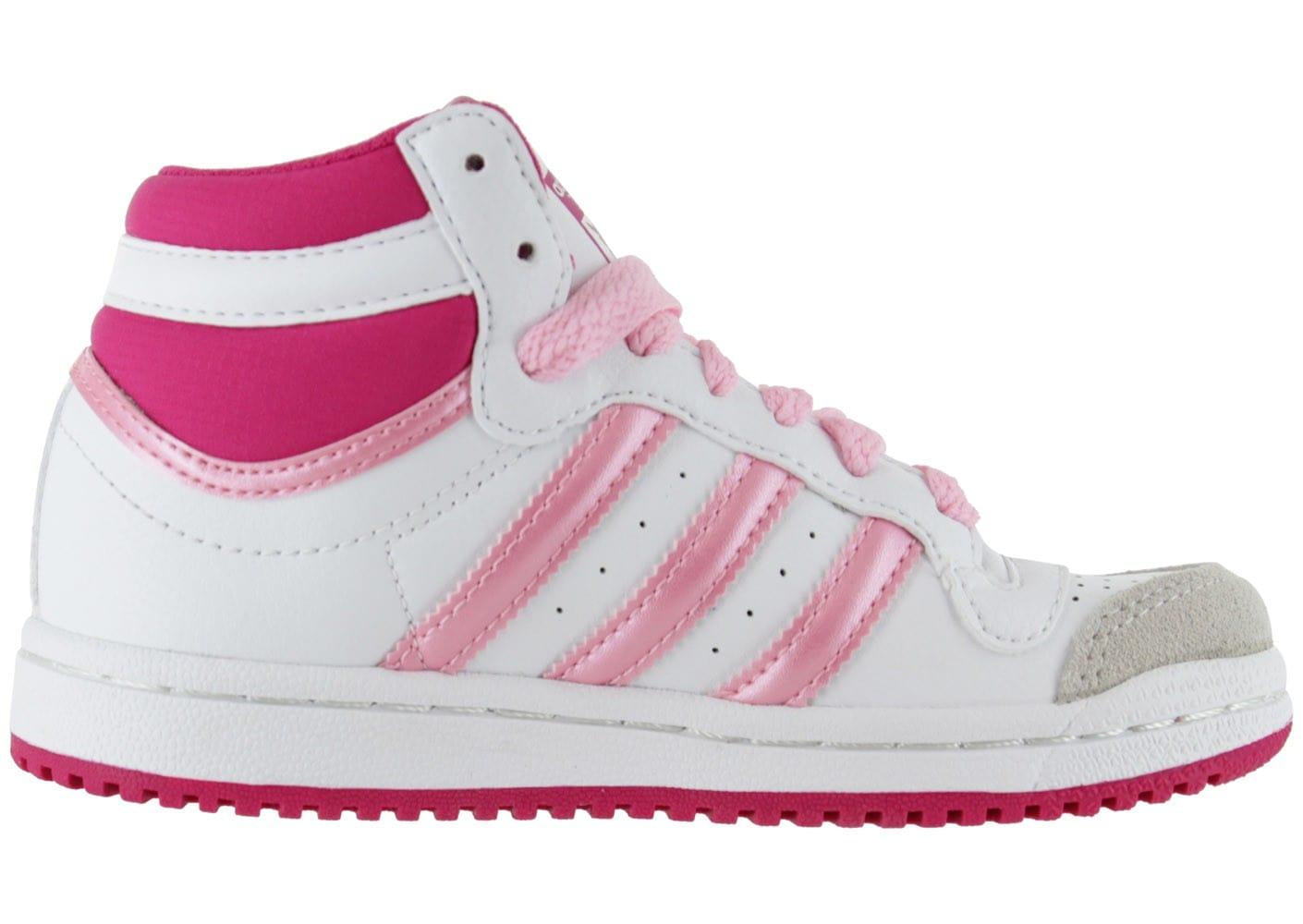 buy popular c8332 466d6 Acheter adidas top ten rose pas cher