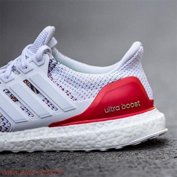 b5b207a34a4b1 Acheter adidas ultra boost bleu blanc rouge pas cher