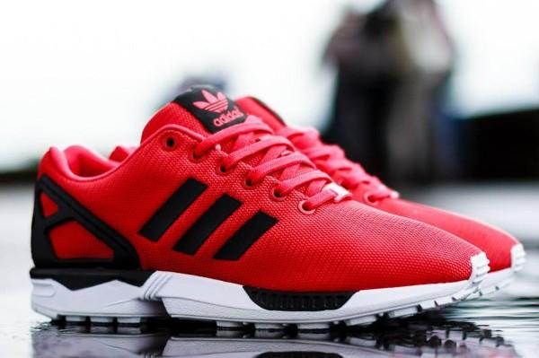 Acheter adidas zx flux homme rouge pas cher