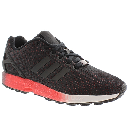 nouveau produit 284e9 cccc8 Acheter adidas zx flux noir et rouge pas cher