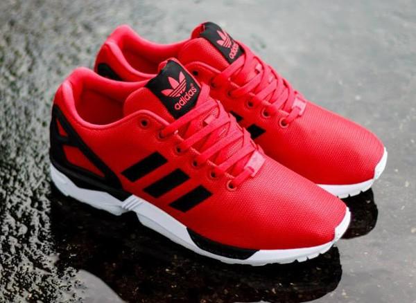 Acheter Noir Cher Zx Flux Adidas Et Rouge Pas tqvrt6x8
