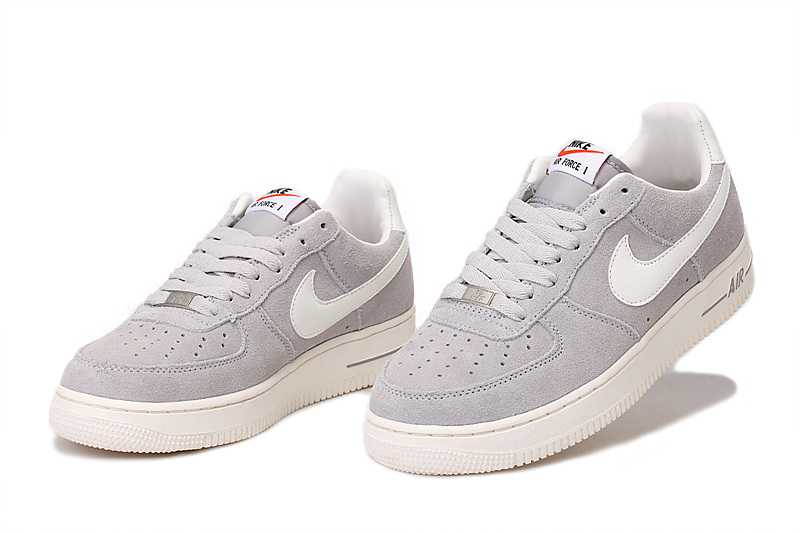 Acheter air force one grise femme pas cher