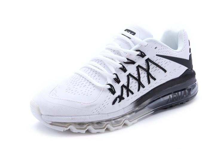 Nike Air Max 2015 Chaussures Nike Pas Cher Homme Blanc