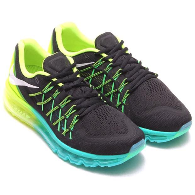 pretty nice 84c91 2e8b1 Nike Air Max Blanc Et Jaune Fluo Dernière de style Femme Nike Air Max 2015  Femme Black Vert Fluo Produits Hot Sale p( Vm Nike Air Max Bleu Noir ...