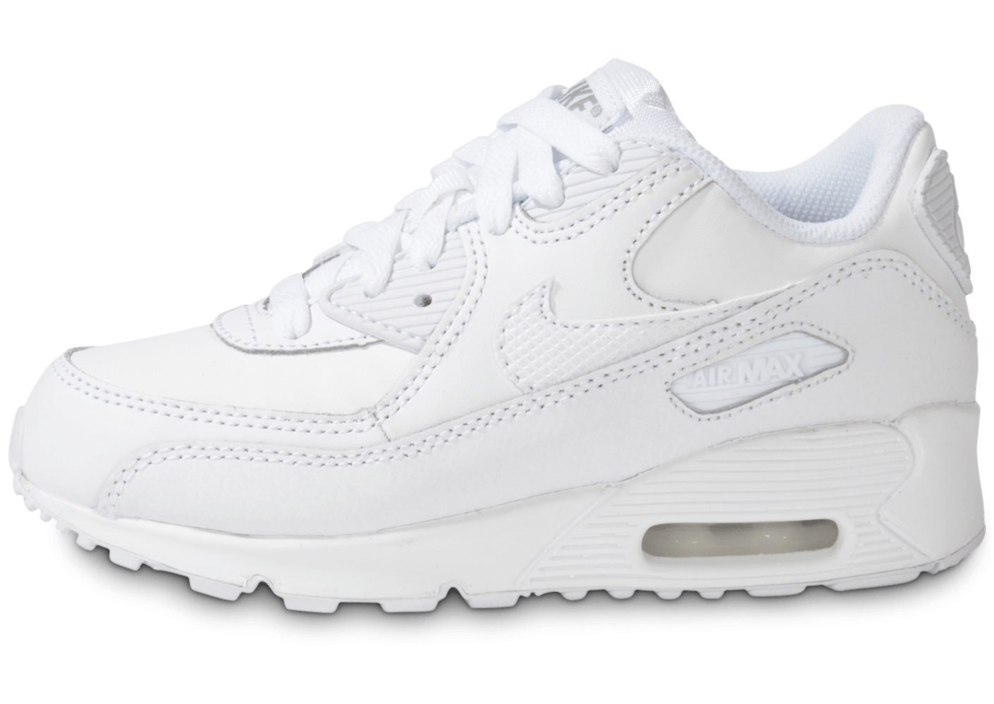 reputable site 5be0e cd9e2 Chaussures Homme Baskets basses Nike AIR MAX 90 LEATHER Blanc Basket Nike  Air Max 90 Leather Bébé - 833416-001 NIKE nike air presto full black rouge  blanc ...