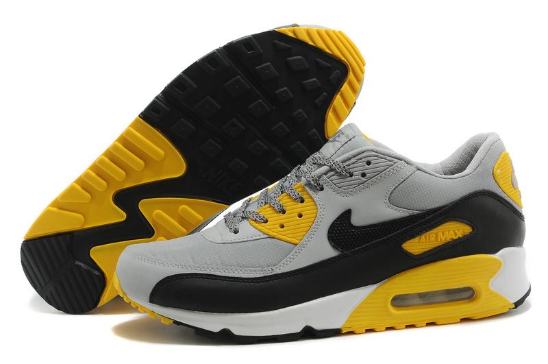 Acheter air max 90 gris jaune pas cher 741de1f2325b