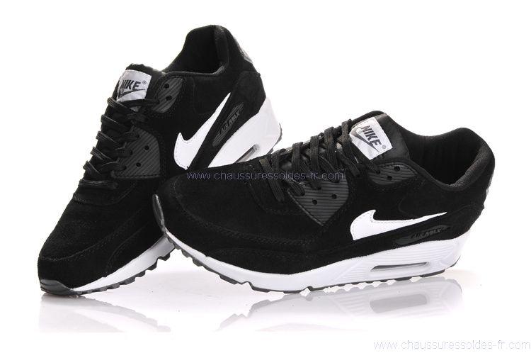 best sneakers 61158 4d12c Acheter air max 90 noir et blanc femme pas cher