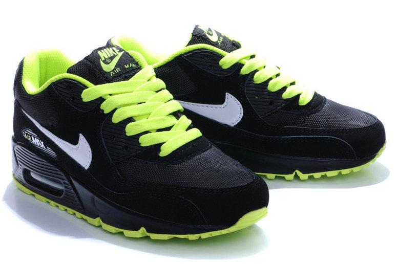 Acheter air max 90 noir et vert homme pas cher 2eb05cd2d64f