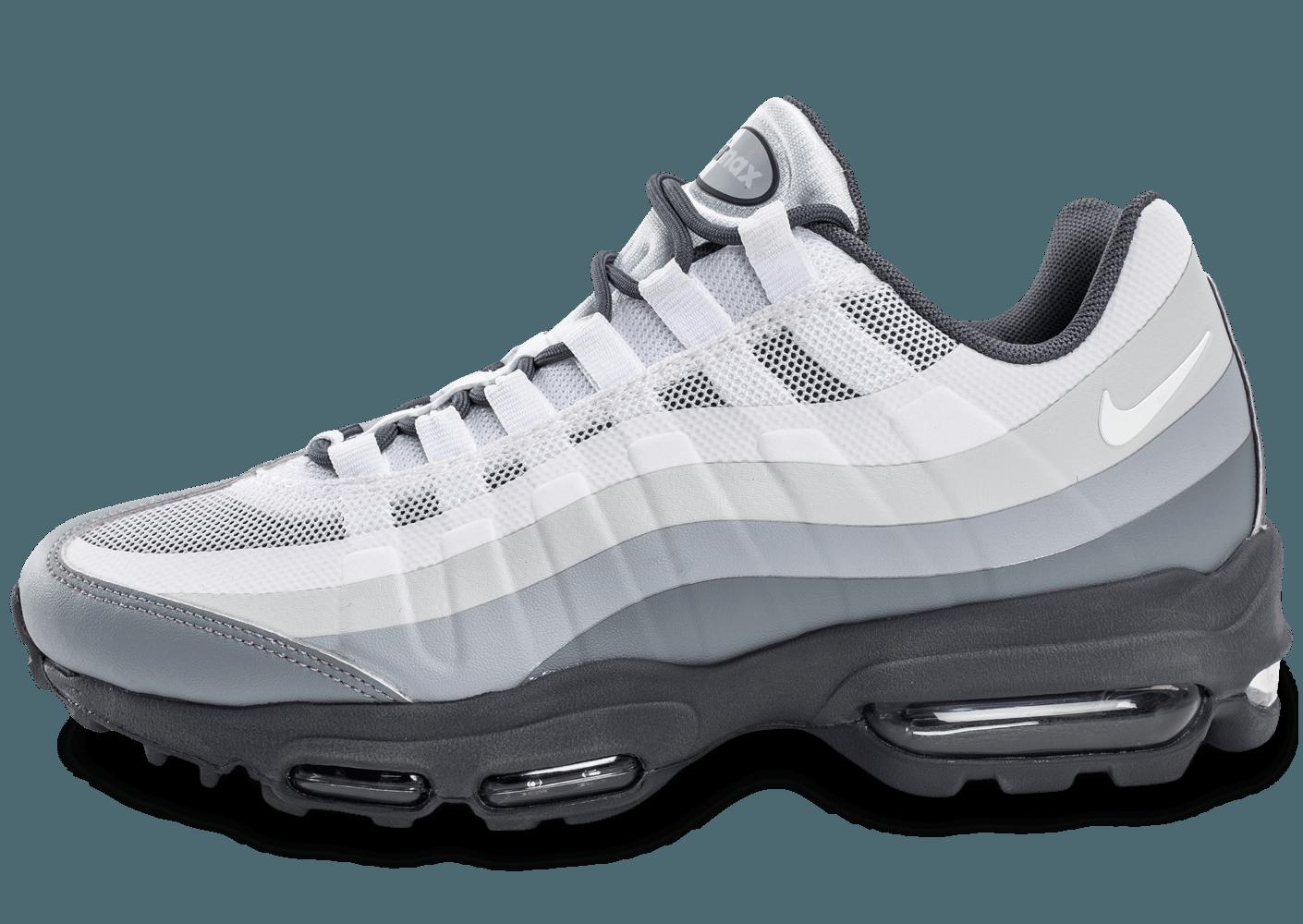 air max 95 blanc gris bleu