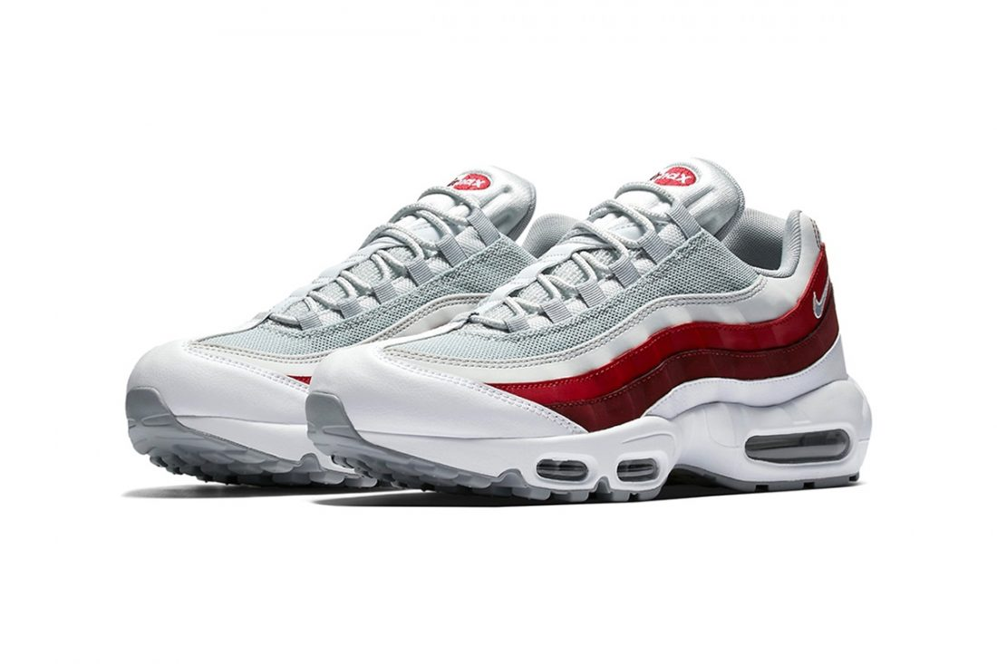 Pas Cher 95 Blanche Max Rouge Air Grise Acheter YE0qSwg