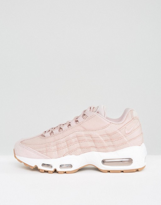 new style 89835 ee07a NIKE Air Max 95 Rose Blanc Chaussures Nike Air Max 1 Essential Blanc  Pourpre Rose Orangé Femme,nike basket en solde. Officielle Fabrique Nike  Air Max ...
