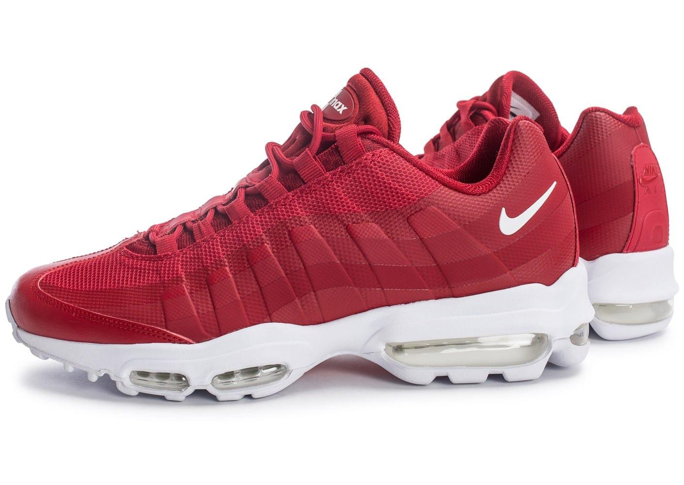 f1cd51fea2c8 ... blanc rouge jaune chaussures en ligne officielle pas cher 2e5f3 62664;  order air max 95 rouge femme. nike femme homme air max 95 se homme nike