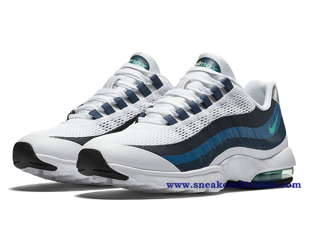 meilleures baskets de8d2 cf7c5 reduced hommes nike air max 95 ultra bleu blanc gris 08372 686f1