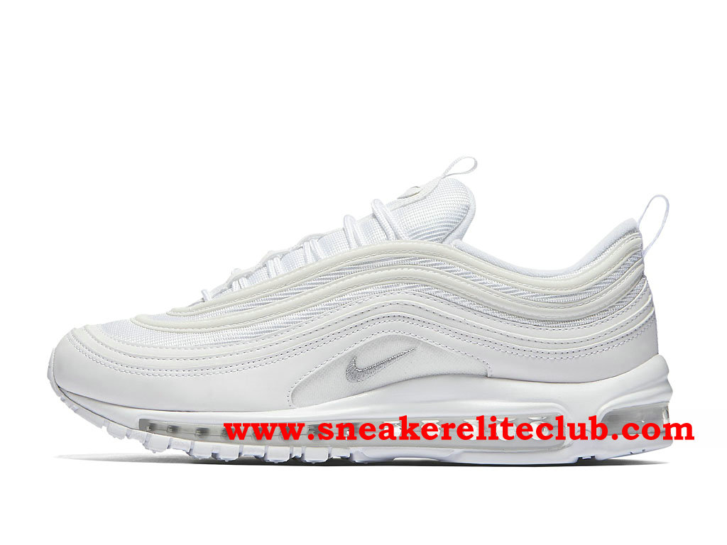 innovative design b37c3 ae02c Nike Air Max Femme 97 Vapormax Blanc Rouge Chaussures pas cher Chaussures  Nike Air Max 97 OG Nike Homme Nike blanche ... Nike Air Max 97 Silver  Bullet ...