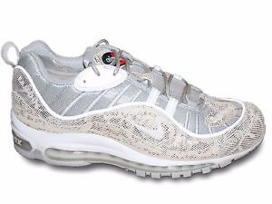 finest selection 500f8 f136b A Closer Look At The Supreme x Nike Air Max 98 Collection  u2022  KicksOnFire.com. Nike Air Max 98 White Camouflage Men u0027s Running Shoes