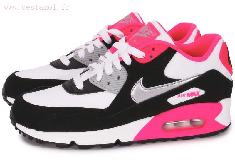 air max rose blanche