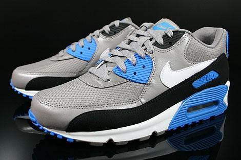 nike AIR MAX 90 ESSENTIAL nike air max gris bleu. Baskets  u2013 Nike Air adf2c6b82cd7