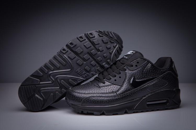 air max noir cuir