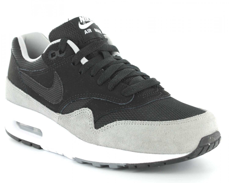 buy popular 996bd 451f4 Nike Air Max 1 Homme Noir Blanc Gris M1H045,nike free magasin de chaussure. Obsidienne  Gris Nike Air Max 1 Vert Clot X Sp Kiss Of Death 2 Special Box