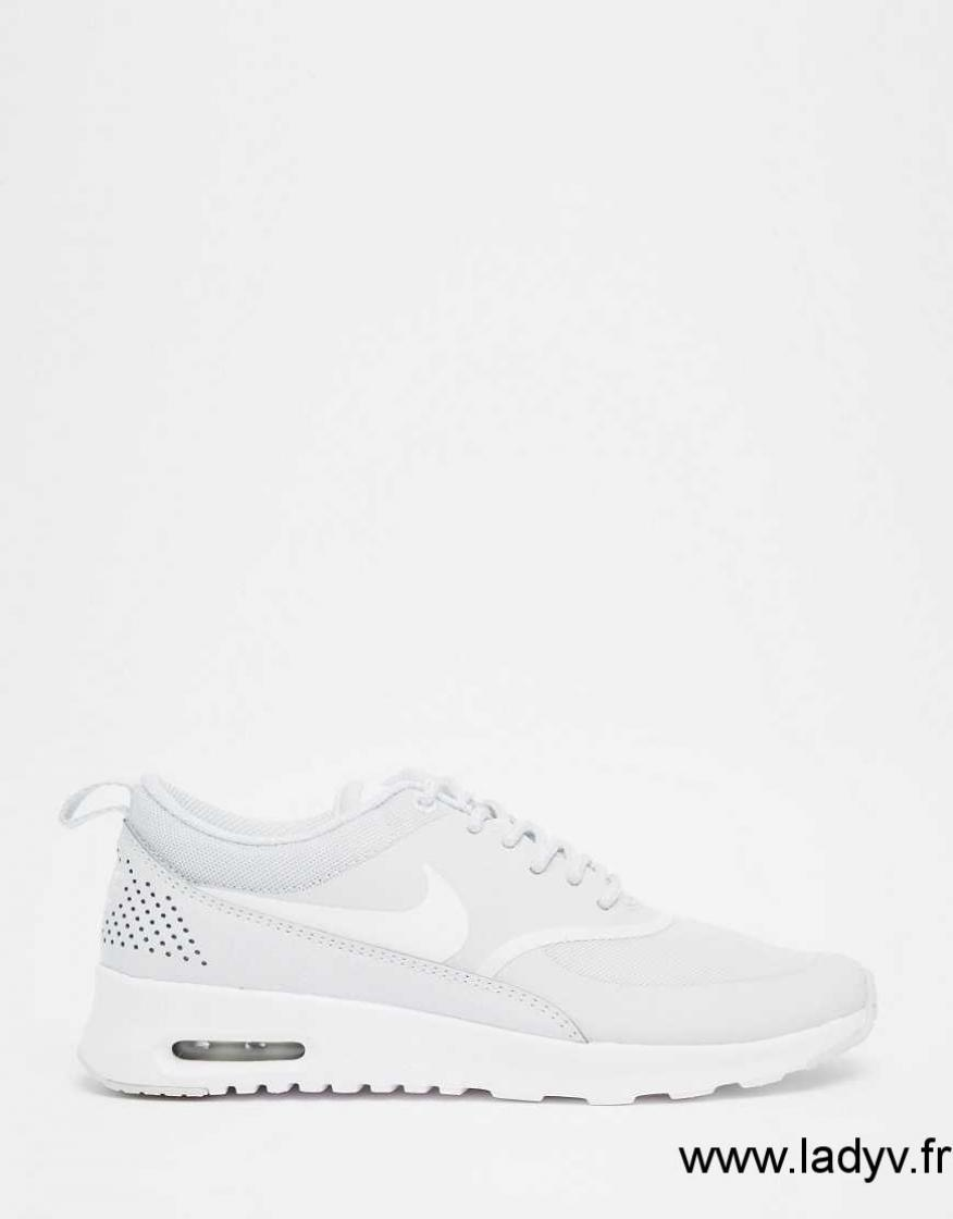 new product ddfd3 62aa4 Nike Air Max Thea Blanc Platine Femme Nike Air Max Thea Ultra Flyknit  Platine pur Blanc Gris loup Platine Nike Chaussures Des Femmes Tilisez  Course ...