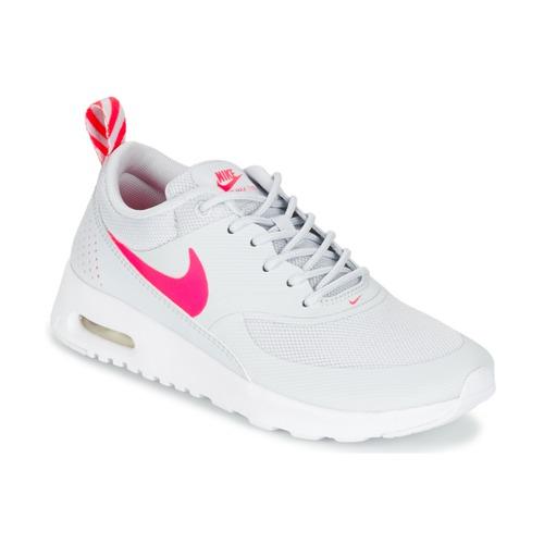 sports shoes 36686 1b13e air max solde,air max thea ultra noir et blanche femme. Gris Basket Nike  Air Max Thea Print Enfant Baskets Junior économie