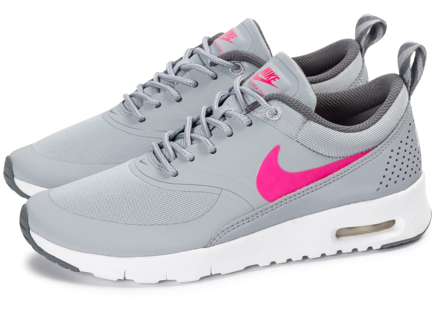 air max rose et gris