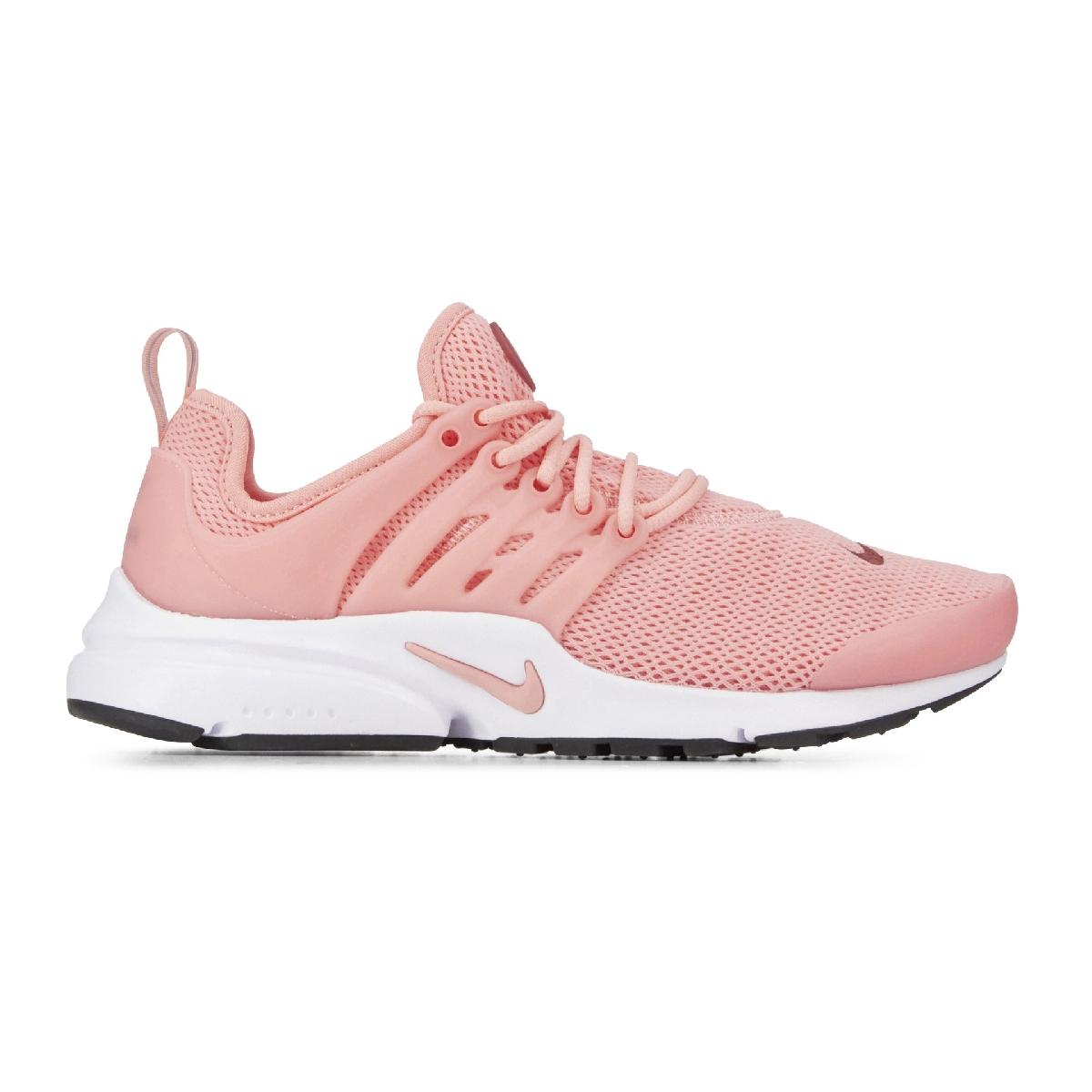 competitive price d7732 0fe9e ... buy nouvelle version nike air presto rose et blanche femme solde  sb203847 boutique. femmes rose