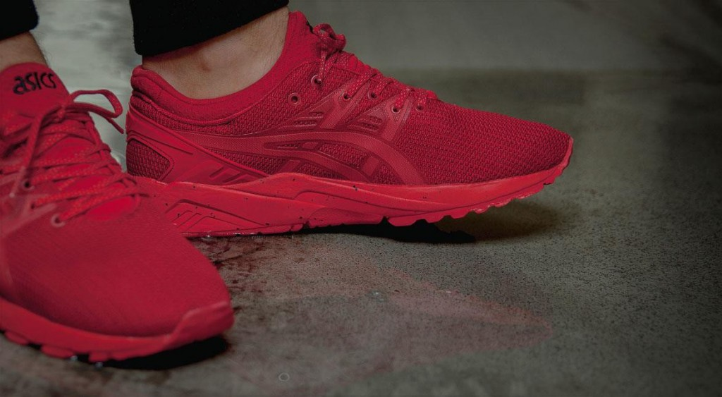 asics kayano rouge