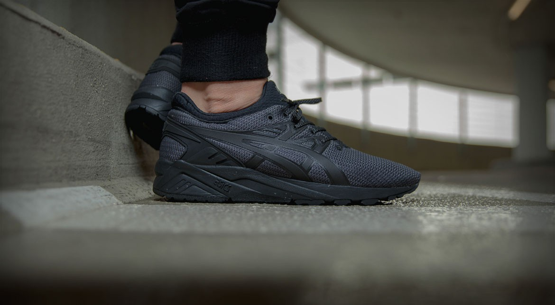asics gel kayano trainer dark grey