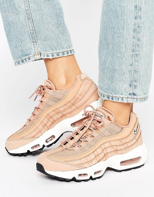 good quality uk cheap sale best prices Acheter asos nike air max 95 rose pas cher
