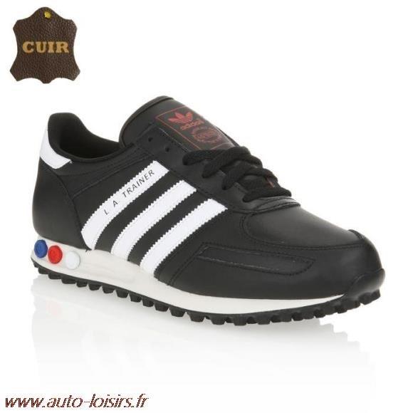 chaussures adidas en cuir