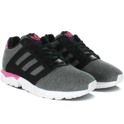 Femmes Baskets adidas ZX Flux W chaussures vert blanc Code article: SO49771769 .