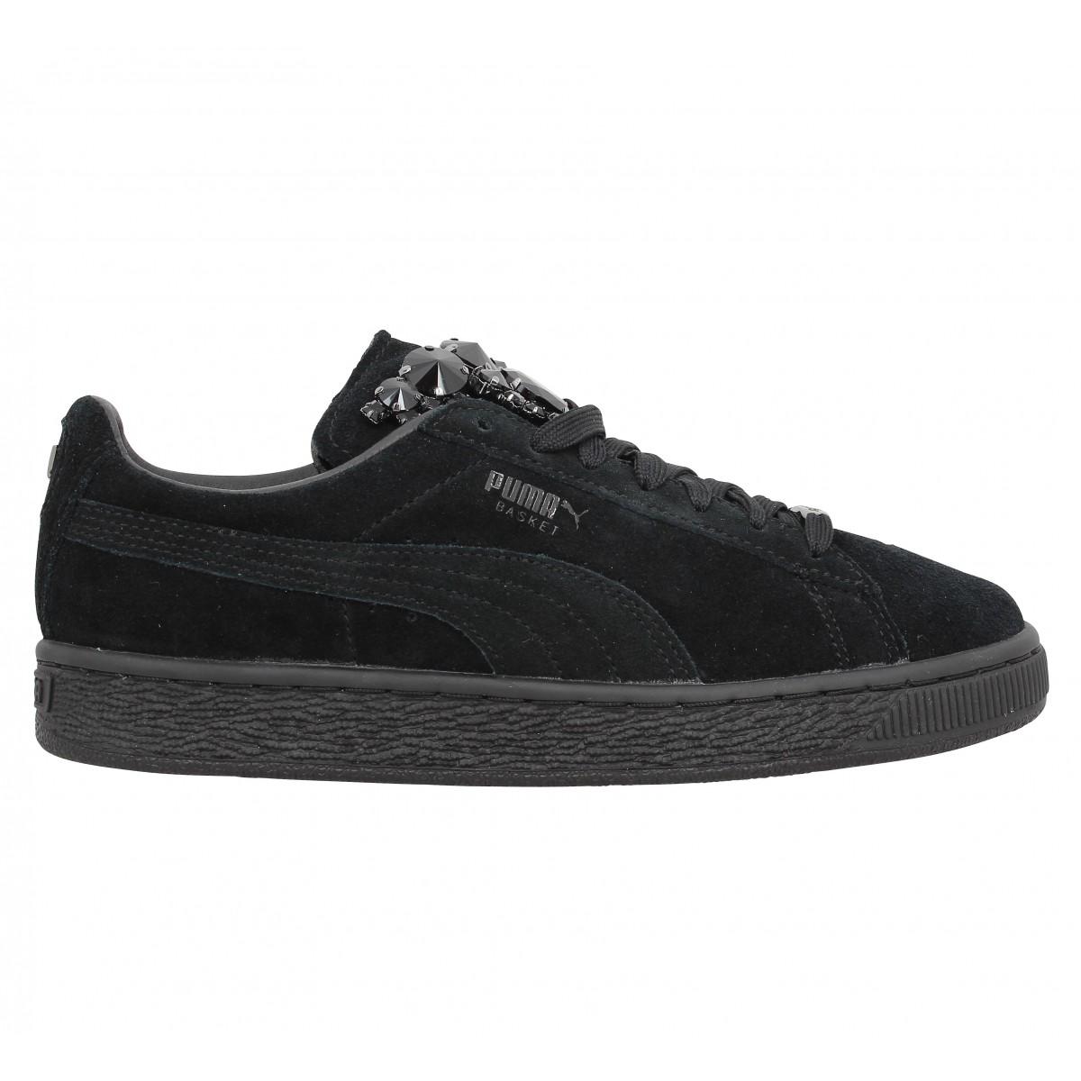 chaussure puma femmes noir
