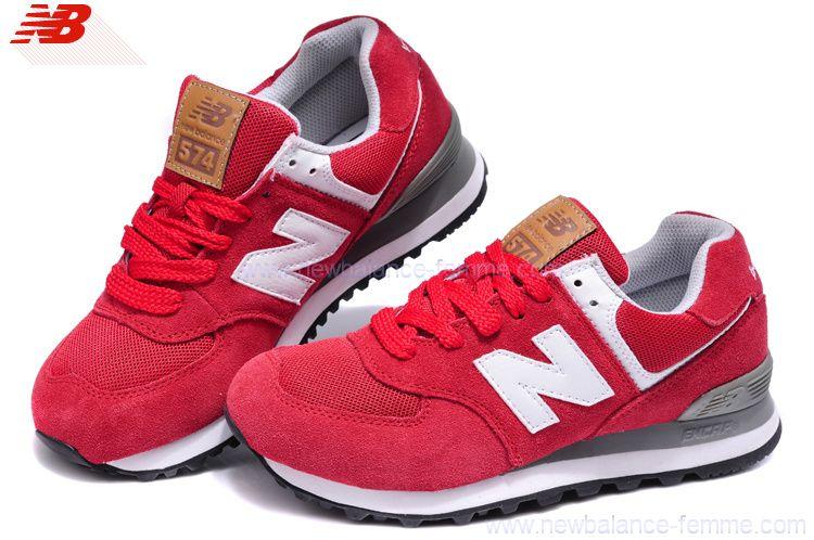 new balance rouges
